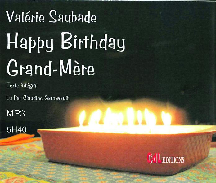 Happy birthday Grand-mère MP3